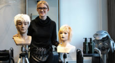 Frisørelev Trine Andresen Biel nød processen op til Skills i København