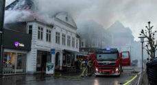 Brandskadet - bevaringsværdig - bygning må rives ned