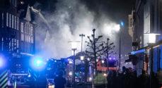 Billeder: Brandfolkene bliver ved indtil midnat