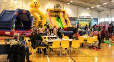 450 besøgte Legeland i Høruphallen