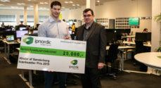 ipnordics Charles Ginnerskov stod klar med kontanter til iværksætter-prisvinder