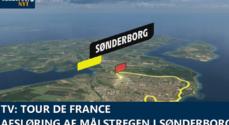 TV: Tour de France – afsløring af målstregen i Sønderborg