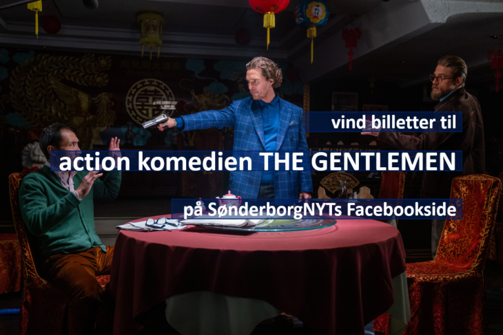 Konkurrencetid: Vind biografbilletter til action komedien THE GENTLEMEN