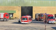 Brand hos Petersen Maskinfabrik i Smøl