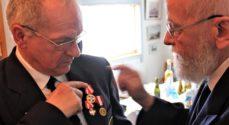 Nyt æresmedlem i Marineforeningen i Sønderborg