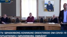 TV: Sønderborg Kommune orienterede om Covid-19 situationen i Sønderborg-området