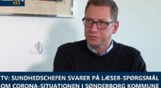 TV: Sundhedschefen svarer på læser-spørgsmål om Corona-situationen i Sønderborg Kommune