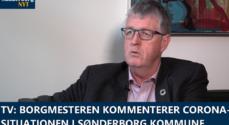 TV: Borgmesteren kommenterer Corona-situationen i Sønderborg Kommune
