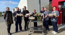Hertug Blomster har forkælet et distrikt i hjemmeplejen, Amaliehaven og en sygehusafdeling