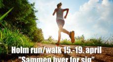 Run/Walk i Holm melder Alt Udsolgt