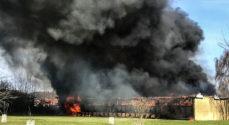 Brand i tidligere Rådhus på Sydals