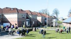 Riggelsen & Steen gav en hyggekoncert i Mølleparken
