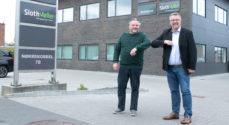 Afdelingsleder Kim Hansen Krogh glæder sig over travlhed i SlothMøller