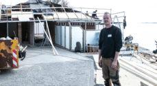 Billeder: Tømrer-arbejde med udsigt