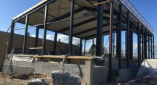 Byggeriet i Ahlmannsparken følger tidsplanen