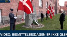 VIDEO: Besættelsesdagen er ikke glemt