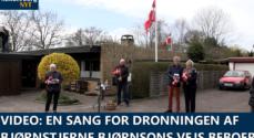 VIDEO: En sang for Dronningen fra Bjørnstjerne Bjørnsons Vejs beboere