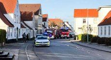 Badeværelsebrand i Augustenborg