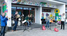 Flot musik ved den tyske friskole i Lunden