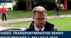 VIDEO: Transportminister Benny Engelbrechts 1.maj tale 2020