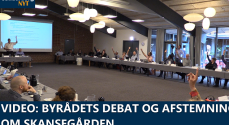 VIDEO: Byrådets debat og afstemning om Skansegården
