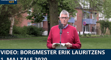 VIDEO: Borgmester Erik Lauritzens 1.maj tale 2020