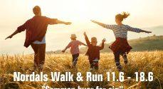 170 deltagere med i Walk & Run version 2