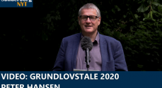 VIDEO: Grundlovstale 2020 – Peter Hansen