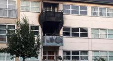 Brand i lejlighed på Søstjernevej