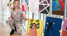Kunstskolen: Børn udstiller kunst som har afsæt i Henri Matisse