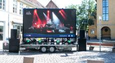Musikken spiller fra Soleng Festival