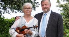 Musik i Haven: Karsten og Inge Munk spiller Beethovens toner
