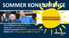 Sommerkonkurrence – vind billetter til Brecklings Bogcafe med Ulf Pilgaard