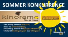 Sommerkonkurrence – vind popkorn og sodavand fra Kinorama Sønderborg