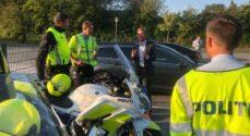 Transportministeren og Politiet holdt øje med skoletrafikken