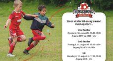 Sønderborg Boldklub sætter gang i børnefodbold i den kommende uge