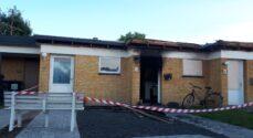 Stearinlys er årsag til branden på Stationsvej
