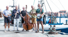Tjørnelunds Jazzband spillede Havnejazz