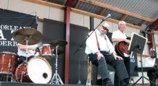 Kingos Jazz Swing Band gav en herlig koncert
