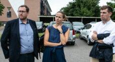 Venstre-politikere fik indsigt i boligområderne Nørager og Kærhaven