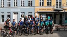 Soroptimister kom til Sønderborg - pitstop på en ni dage lang cykletur
