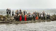 Sønderjyllands Symfoniorkester spiller koncert ved vandkanten