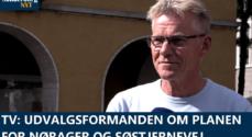 TV: Udvalgsformanden om planen for Nørager og Søstjernevej