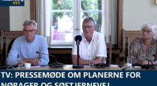 VIDEO: Pressemøde om planerne for Nørager og Søstjernevej