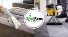 Nystartede Grøn Rens tilbyder at rense møbler og tæpper for dig