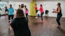 Kig ud til DanceAndFitness i Lollandsgade i dag