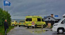 Kite-surfer kom i problemer ved Nordals