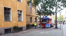 Brand og Redning suste ind til Rådhuset