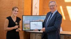Forskerpris for årets lyse idé overrakt til Irina Iachina fra SDU i Sønderborg