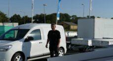 Reception: Als Bilindretning fremhæver trailer-konceptet og fejrer også ejerens 60 årsdag